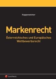 em. o. Univ.-Prof. Dr. Hans-Georg Koppensteiner Markenrecht - Manz