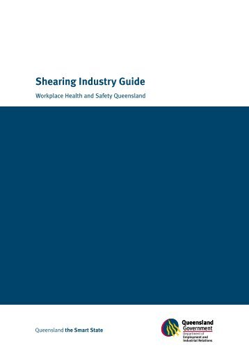 Shearing industry guide (PDF, 795 kB)