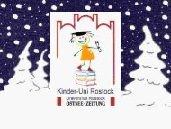 Download Vorlesungsunterlagen (PDF, 4,23MB) - Kinder-Uni Rostock