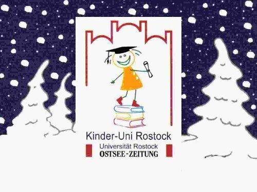Download Vorlesungsunterlagen (PDF, 4,23MB) - Kinder-Uni Rostock