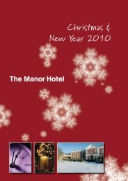 Christmas & New Year 2010 - Manor Hotel