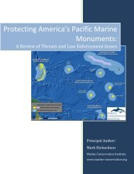Protecting America's Pacific Marine Monuments: A Review of ...