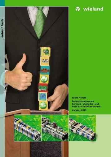 Reihenklemmen-Gesamt-Katalog (0500.0) - Wieland Electric