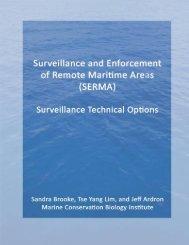 Surveillance Technical Options - Marine Conservation Institute