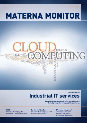 Industrial IT services - MATERNA GmbH