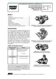 technisches seRVice-hAnDbuch inhALt einfühRung