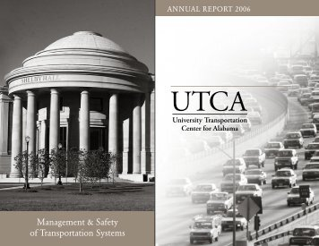 UTCA 2006 Annual Report - University Transportation Center for ...