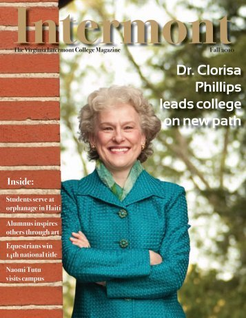 Dr. Clorisa Phillips leads college on new path - Virginia Intermont ...