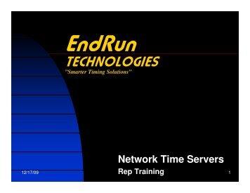 7(&+12/2*,(6 - EndRun Technologies