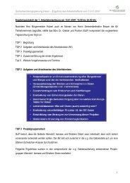 Ergebnisprotokoll der 1. Arbeitskreissitzung am ... - Gemeinde Osten