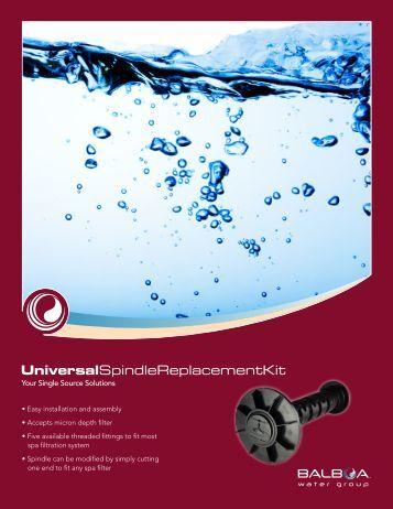 UniversalSpindleReplacementKit - Balboa Direct