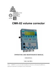 CMK-02 volume corrector - firsttech.ro