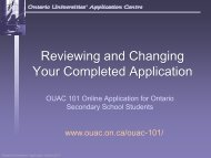 Review and Change Your Completed Application - Ontario ...