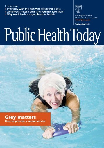 September 2011 - UK Faculty of Public Health