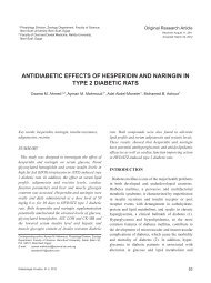 antidiabetic effects of hesperidin and naringin in type 2 diabetic rats