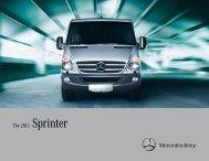 2013 Sprinter Brochure - TheSprinter.ca