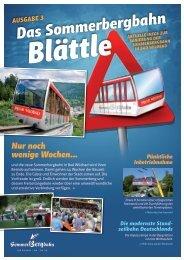 Download Das Bergbahn-Blättle Nr. 3 - Bad Wildbad