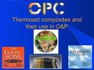 Thermoset Composites - OPC Health