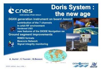 PDF slides - International DORIS Service