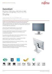 Datenblatt Fujitsu Display P23T-6 IPS Display