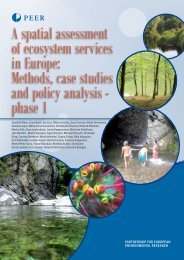 A spatial assessment of ecosystem services in Europe ... - PEER