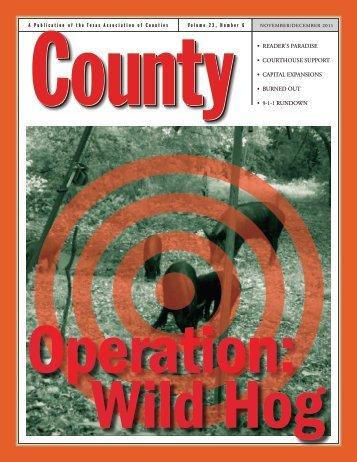 Nov/Dec - Texas Association of Counties