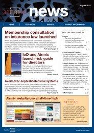 Airmic News August 2012.pdf