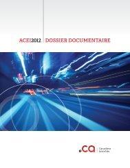 ACEI2012 DOSSIER DOCUMENTAIRE - CIRA
