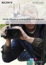 Catálogo XDCAM - IEC