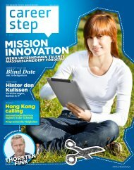 Careerstep Magazin 3/2011