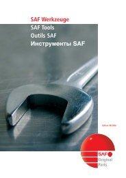 SAF Werkzeuge - SAF Tools - Outils SAF - Инструменты ... - Transpec