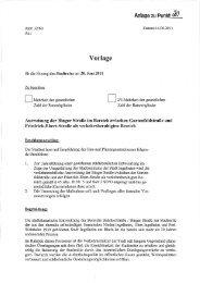 Ausweisung von verkehrsberuhigten Bereichen Juni 2011 | 643KB