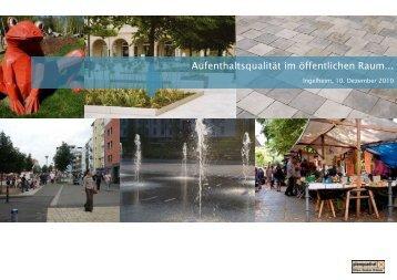 Aufenthaltsqualität im öffentlichen Raum... - Stadtmitte Ingelheim