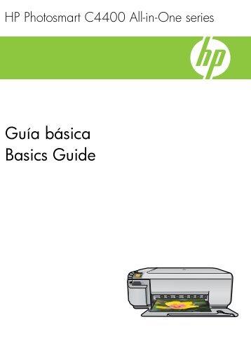 HP Photosmart C4400 All-in-One series - Hewlett Packard