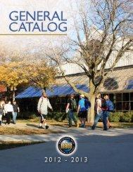 catalog - North Iowa Area Community College