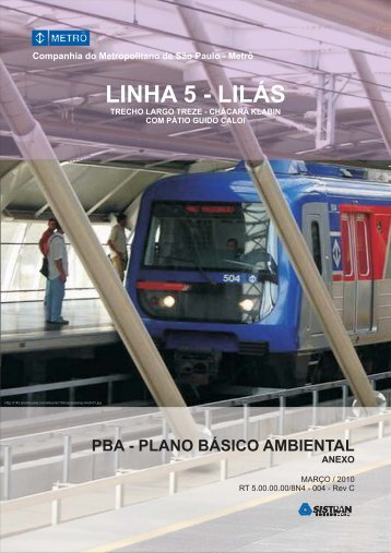 pba - anexo plano básico ambiental - Metrô