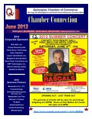 June 2012 Newsletter - The Quinnipiac Chamber of Commerce