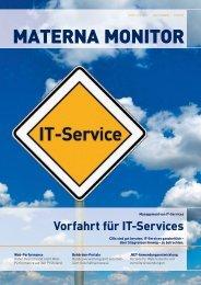Vorfahrt für IT-Services - MATERNA GmbH