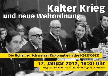 Kalter Krieg - Diplomatische Dokumente der Schweiz