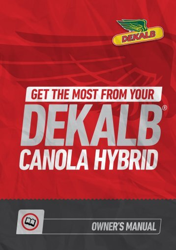 gEt thE most from your - DEKALB Canada