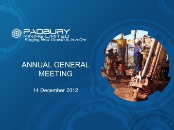 ANNUAL GENERAL MEETING - ABN Newswire