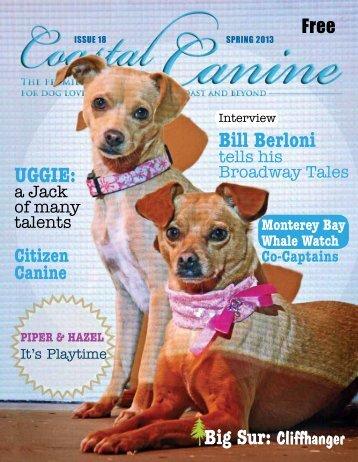 CC_Spring2013_lowres.. - Coastal Canine Magazine