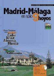 Masters enValderrama MADRID: - Madrid - Málaga en sólo 9 Hoyos