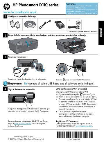 Declaración de garantía limitada de la  impresora ...  - Hewlett Packard