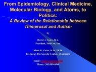 Geier-From Epidemiology, Clinical Medicine, Molecular Biology, and ...