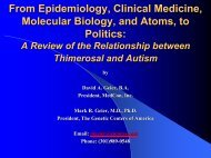 Geier-From Epidemiology, Clinical Medicine, Molecular Biology, and ...