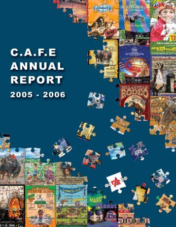 2005-2006 Annual Report - Canadian Association of Fairs and ...