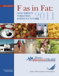 F as in Fat - Trust for America's Health