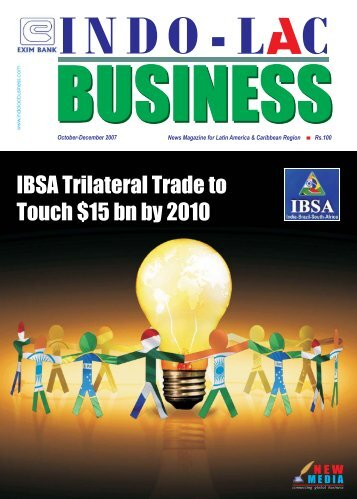 IBSA Trilateral Trade to Touch $15 bn by 2010 IBSA ... - new media