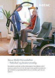 Last ned brosjyren Nova 300 Mobil Personløfter.pdf - Etac